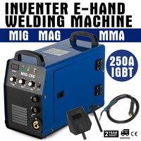 Eu 창고 MIG-250AI 인버터 용접기 mig mag + e-hand igbt 250amp