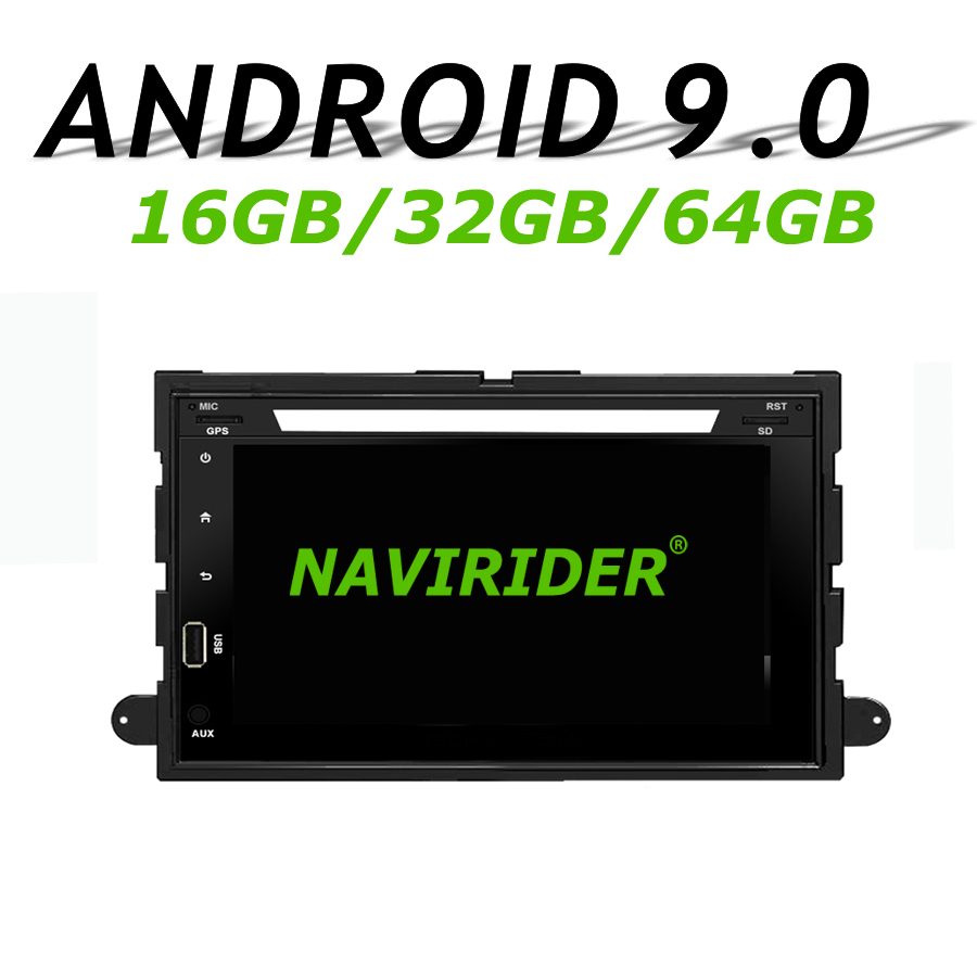 High configuration Octa Core Android 9.0 Car GPS Multimedia For FORD Fusion Explorer F150 Edge Expedition 2006 large memory
