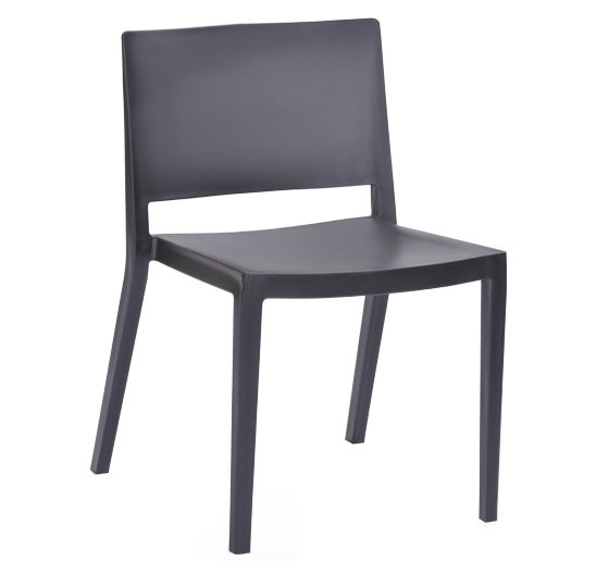 Minimalist Modern Design Stackable Plastic Dining Chair Pp Side Home Furniture Leisure Stack