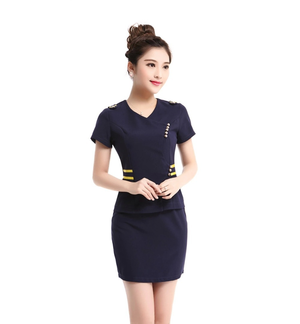 2015 new summer style ol slim vest skirt suit sexy carreer for Office uniform design 2015