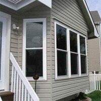 Dark Black Window Tint Film Glass VLT 0 Roll 2 Mil House Commercial Solar Protection Summer