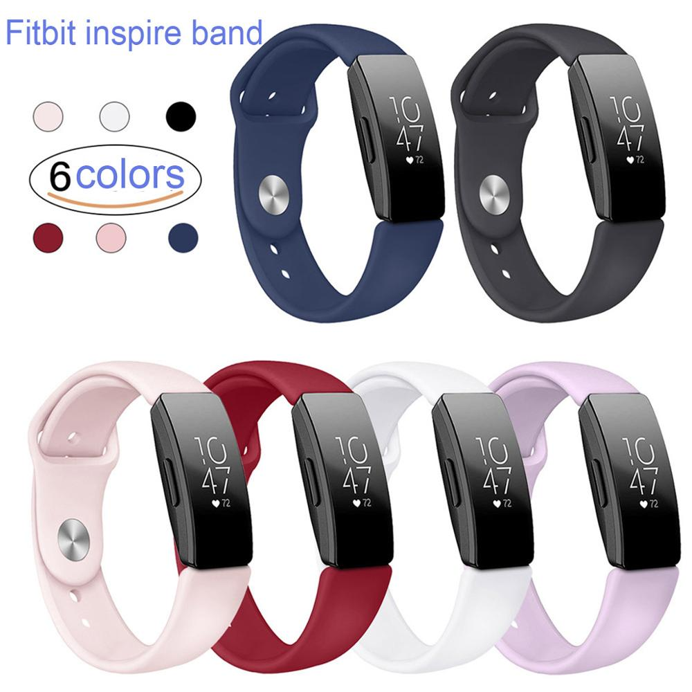 For Fitbit Inspire/Inspire Hr Bands 2019 Replacement Wristband For Fitbit Inspire Slim Silicone Sports  Bracelet For Women Kids