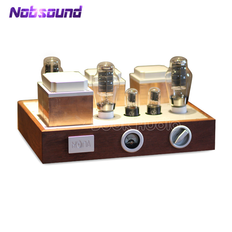 Nobsound Hi-end PSVANE 300B Vacuum Tube Amplifier Stereo HiFi Integrated Power Amplifier Classic Wood hi end 300b valve