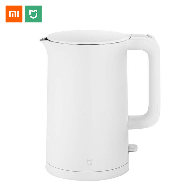 Xiaomi Mijia Electric Kettle Stainless Steel 1.5L Auto Power-off Protection Wired Handheld Instant Heating Water Bioler Tea Pot