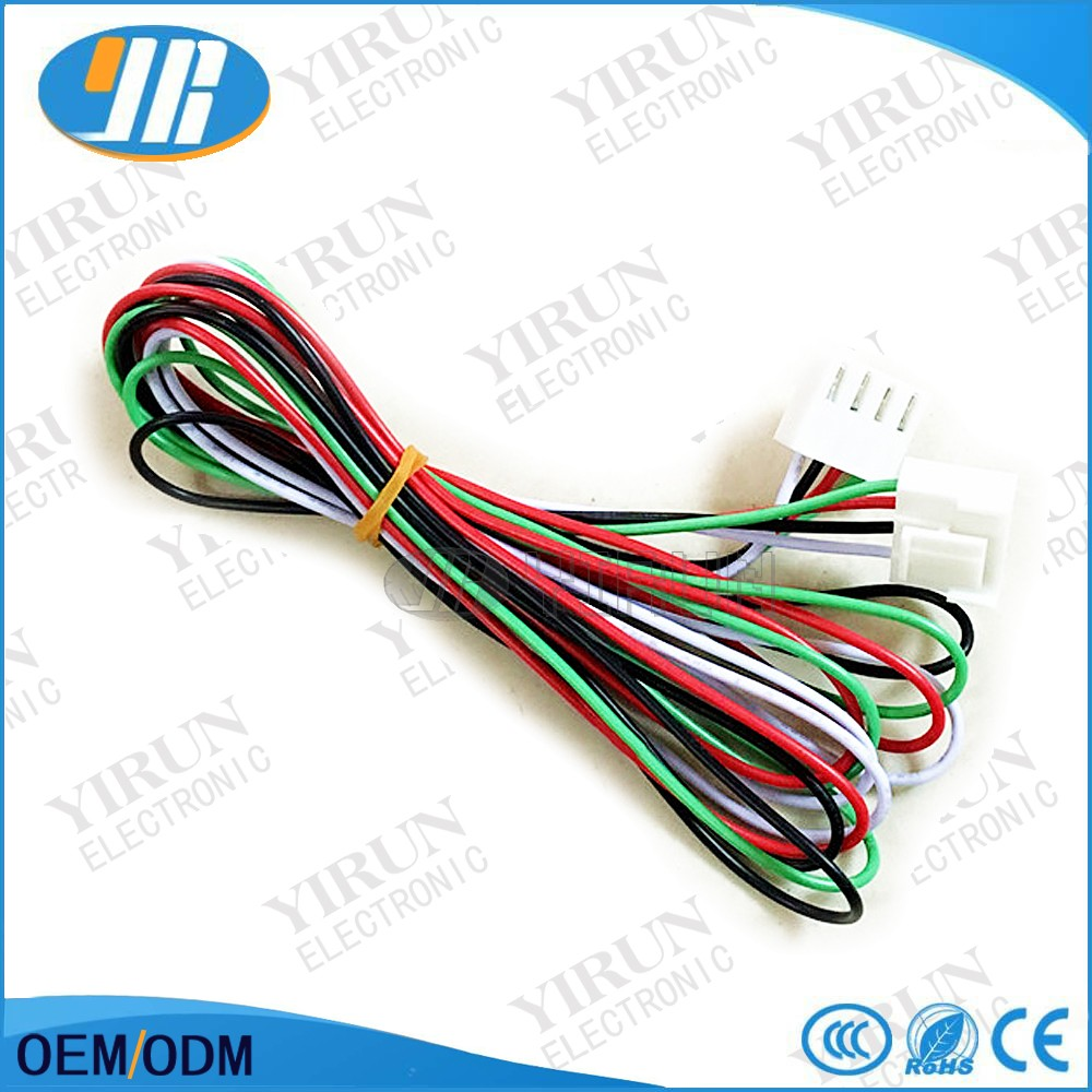 micro computer metal ticket machine ticket dispenser 4 pin wire harness  lottery ticket wire harness