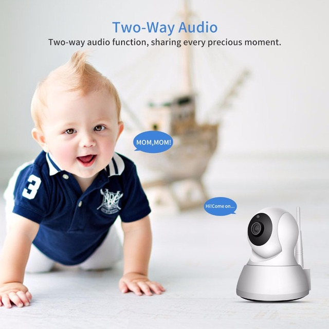 SDETER Home Security IP Camera Wi-Fi 1080P 720P Wireless Network Camera CCTV Camera Surveillance P2P Night Vision Baby Monitor 1