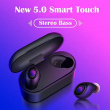 Bluetooth Wireless Headphone Sport Earphone HiFi Headset Earbuds Noise Cancelling Stereo