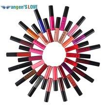 Matte Lipstick 34 Colors Vampire Nude Grape Wine Colorful QiBest Soft Matte Lip Cream Lip Gloss