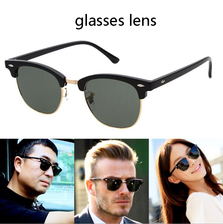 b12c3a2ae clubmaster Mens Sun Glasses half frame vintage Sunglasses Women Outdoor ray  bain Retro Sunglass lunette de. ray ban wayfarer feminino ...