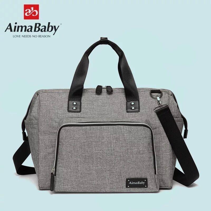 Aimababy Большой сумка для подгузников, органайзер бренд Сумки для подгузников для путешествий для беременных сумки для мамочек Детские коляск...