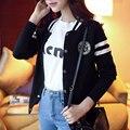 2015 женские куртки пальто бейсбол равномерное женский весной новое поступление мода субсидировать значок кардиган верхняя одежда JX173