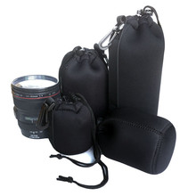 Camera Case Lens Pouch Set Lens Universal Waterproof Case for DSLR Camera Lens Bag Pouch Shockproof Camera Lens Bag