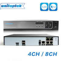 4CH 8CH ONVIF 48V 5MP 4MP 2MP POE NVR HDMI Network Video Recorder Standalone CCTV NVR