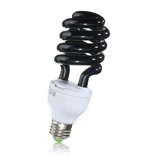 e27 40w uv ultraviolet fluorescent blacklight cfl light bulb lamp 220v shapespiral wattage voltage - Black Light Bulbs