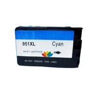 1 шт. совместимый чернильный картридж для hp951 HP 951XL CYAN Office Jet Pro 8100 8600 8660 8600e 8620 8100 8600e 8600 plus