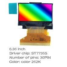 0,96 inch OLED display 30PIN SSD1315 SSD1306 ST7735S 12864 dot matrix LCD display modul Blau/weiß optional