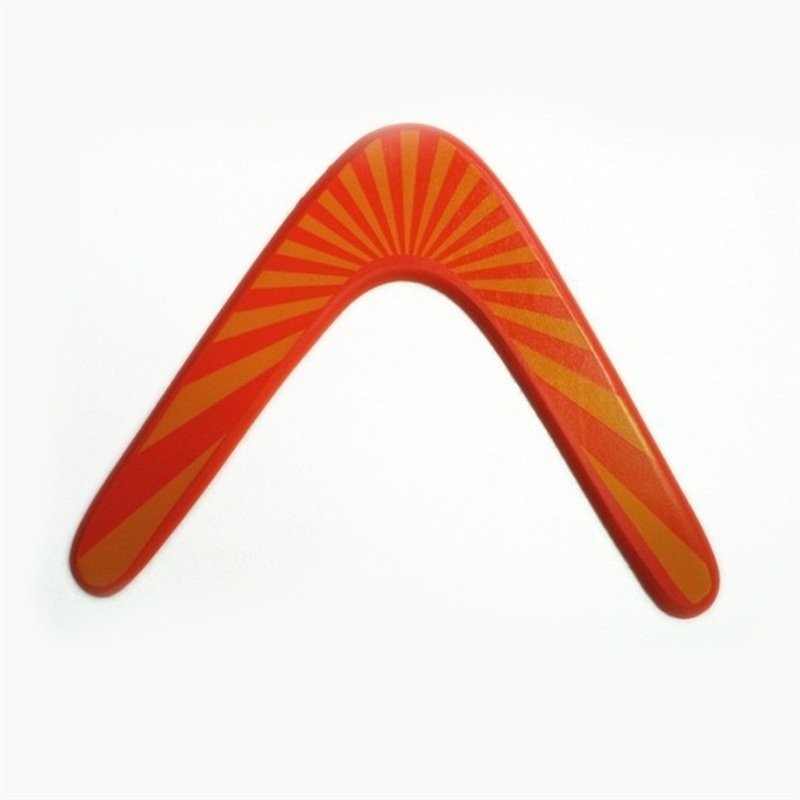 outdoor wood high intensity v shaped boomerang dart frisbee kids toy flying funny saucer throw catch children game gift toys boy
