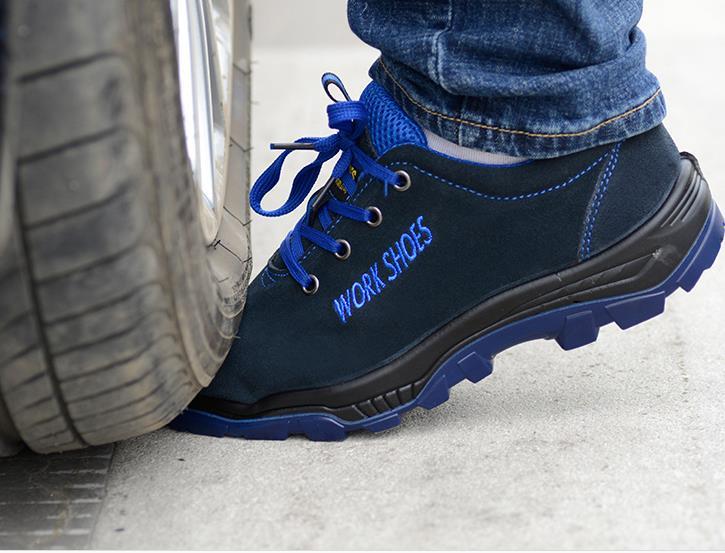 Bout D'assurance Taille Ponction Preuve Bottes Acier Du De En Les Casual Travail Sécurité pu Chaud 35 Bleu Ciel Hommes 50899 Travaillent Chaussures Respirant Grande wO7wAqXU6
