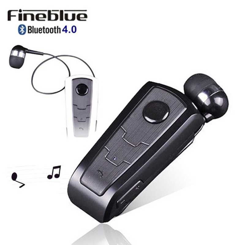 100% Original Fineblue F910 Wireless Bluetooth V4.0 Headset In-Ear Vibrating Alert Wear Clip Hands Free Earphone For Smartphones