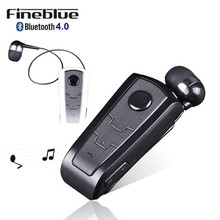 100% Original Fineblue F910 Wireless Bluetooth V4.0 Headset In-Ear Vibrating Alert Wear Clip Hands Free Earphone For Smartphones(China)