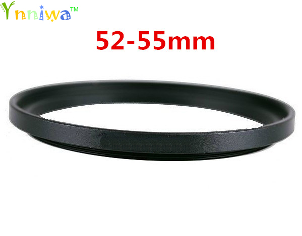 52-55mm Metal Step Up Rings Lens Adapter Filter Set