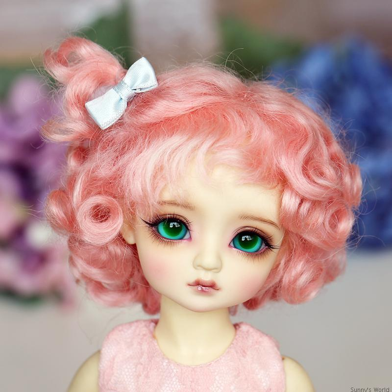 Free Shipping New Arrival 1/6 6-7 Bjd Wig Msd Sd Yosd Lovely Fashion Short Style Mohair BJD Hair Wig автоинвертор pitatel kv m1000dru 12