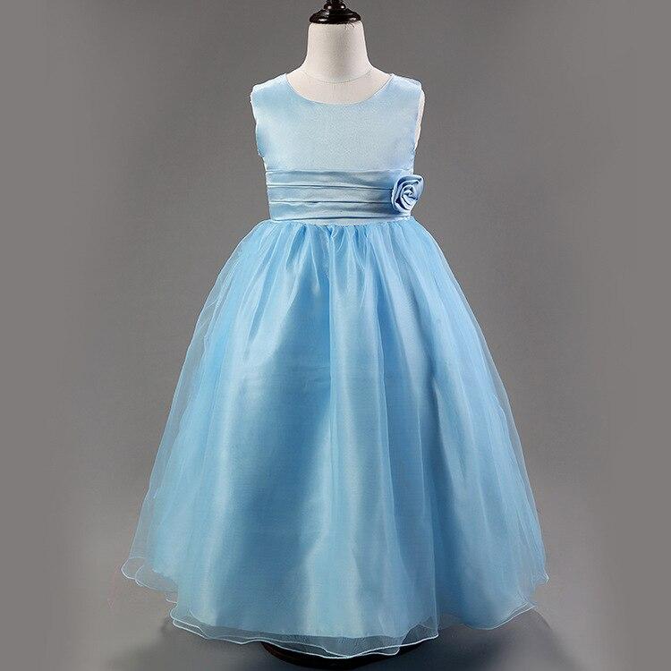 419a9643d13d 2016 summer new sleeveless cotton boutique girl dress 3D flowers ...