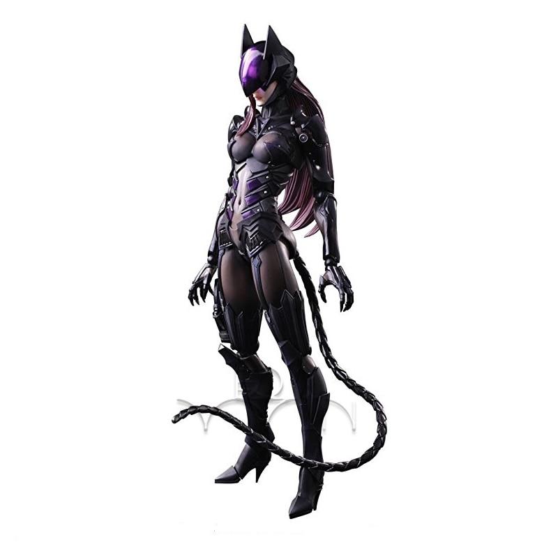 Final Fantasy Dc Comics Play Arts Kai Catwoman Action Figure Tetsuya Nomura NO50 yamato nomura y771 7x17 5x114 3 et47 d66 1 wr ep