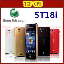 "St18 Original Sony Ericsson Xperia Ray St18i Cell Phone Android GPS WIFI 8MP 3.3""TouchScreen Free Shipping"