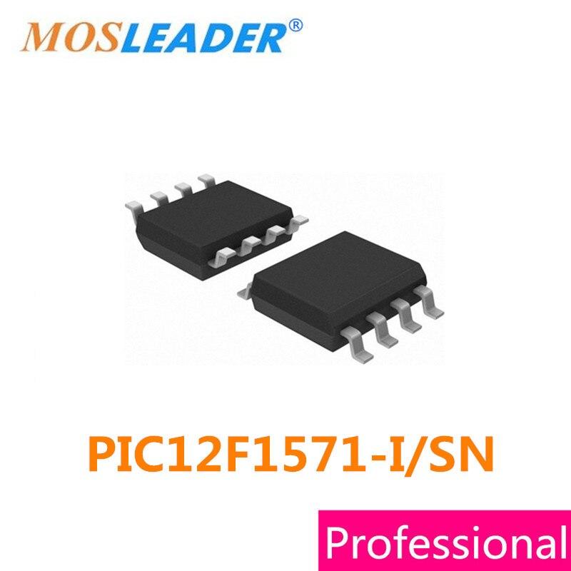 Mosleader SMD PIC12F1571 I SN SOP8 100PCS PIC12F1571 I PIC12F1571 MCU Original High quality