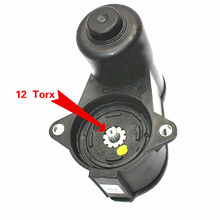 Cheap price TUKE OEM 12-Teeth 3C0 998 281 A 32332267K Rear Wheel Break Caliper Motor For VW Passat B6 B7 VW CC Tiguan Sharan Seat Alhambra