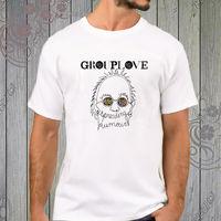 Grouplove распространения слухи инди-рок-группа белая футболка XS-2XL