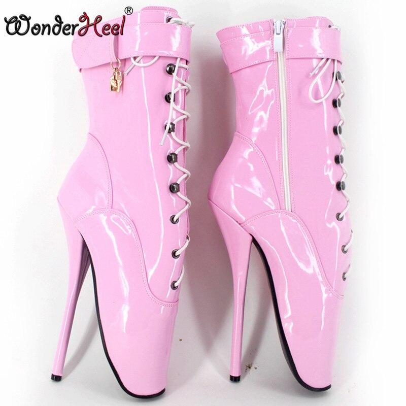Aliexpress.com : Buy Wonderheel on sale HOT ballet ankle boots 7 ...
