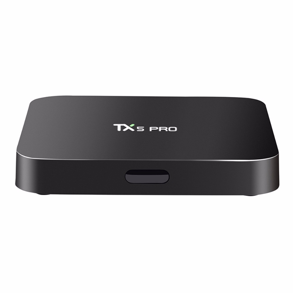 JRGK TX5 Pro Android 6.0 TV Box 2G 16G Amlogic S905X Quad Core Dual Wifi IPTV Smart set top boxes Media Player Support Bluetooth