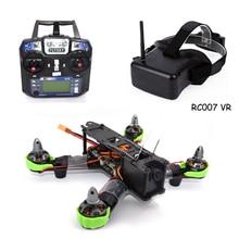 3D Drone RC plane QAV 210mm Carbon Fiber RTF Quadcopter for Fs I6 007 3D VR 5.8G 40CH Inch dron HD glasses Video Screen drones