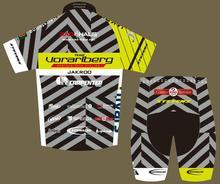 Команда vorarlberg Профессиональный Велоспорт jakroo короткий рукав Велоспорт сетчатая Джерси дышащий от пота фанатов велосипедная одежда