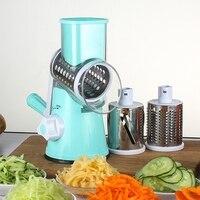 Manual Hand Multifunction Vegetable Food Cutter Round Slicer Potato Salad Carrot Grater