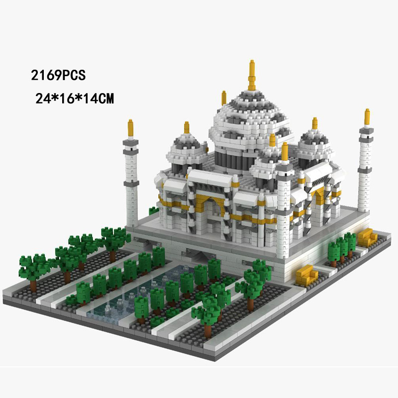 World famous Historical Architecture micro diamond building block India Landscapes Taj Mahal nanoblock assemable bricks toysWorld famous Historical Architecture micro diamond building block India Landscapes Taj Mahal nanoblock assemable bricks toys