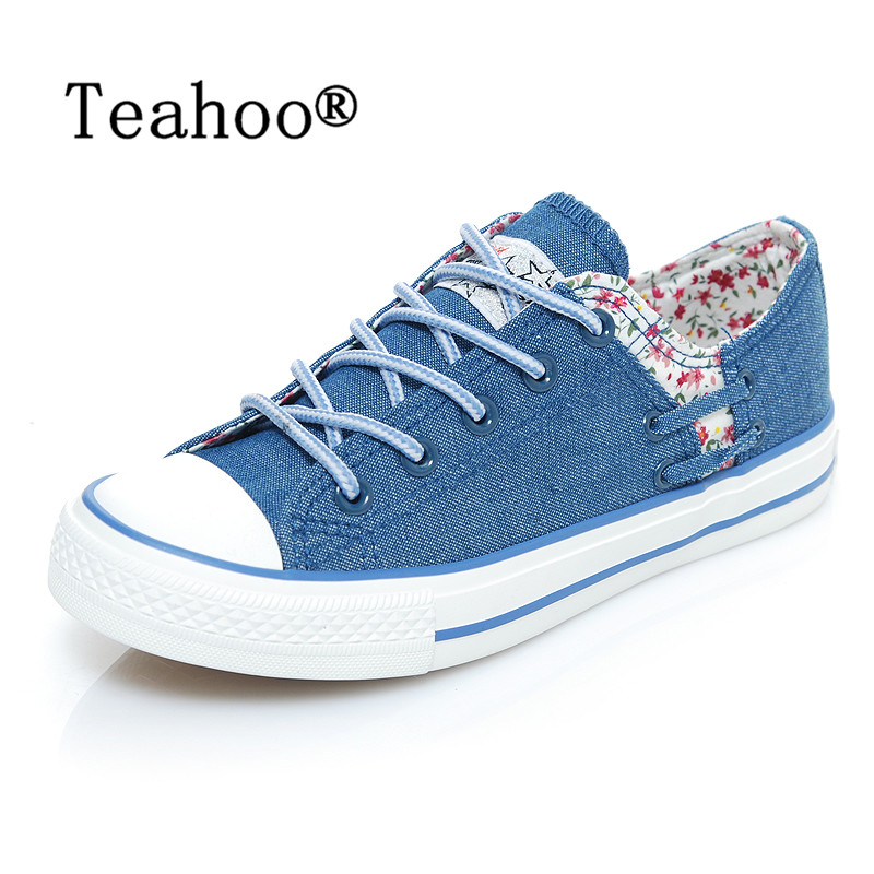 Fashion Women Canvas Shoes Denim Casual Shoes Female Summer Canvas Shoes solid sewing shallow Lace Up Ladies Canvas Shoes Women 2015 summer shallow mouth of canvas shoes women shoes a pedal lazy shoes casual flat white shoes korean wave shoes