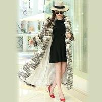 Нерадзурри зимнее пальто с искусственным мехом Для женщин Удлиненные Красочные Лохматый Макси Ourtwear плюс Размеры волосатые Пушистый Лисий