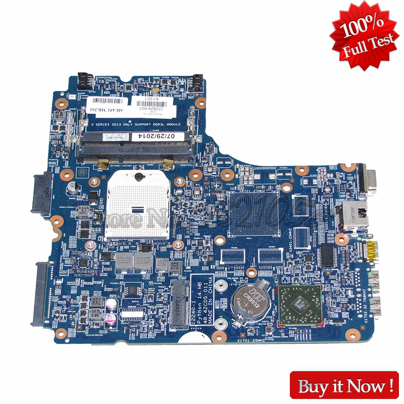 NOKOTION Laptop Motherboard For HP ProBook 450 G1 455 G1 PC Main Board 722824-601 722824-001 722824-501 48.4ZC05.011 DDR3 574680 001 1gb system board fit hp pavilion dv7 3089nr dv7 3000 series notebook pc motherboard 100% working