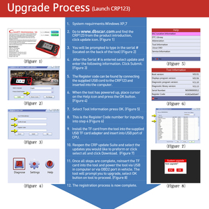 Image 5 - LAUNCH X431 CRP123 OBD2 EOBD automotive scannerABS Airbag SRS Transmission Engine Car Diagnostic Tool Multilingual free update