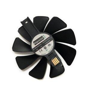Refroidisseur de carte graphique pour cartes graphiques, VGA (CF10H12D), RX VEGA/590/580/570, ventilateur FDC10U12S9-C, pour Sapphire NITRO, RX590, RX580, RX570, RX480