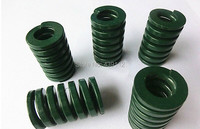 Free Shipping Danly Heay Load Mould Die Spring Rectangular Wire Green 18mm X 9mm X40mm 10pcs