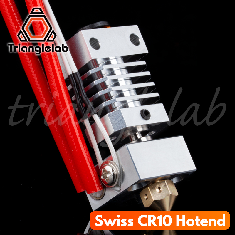 Trianglelab Swiss CR10 Hotend Precision Aluminum Radiator Titanium BREAK 3D Print J-head Hotend For Ender3 Cr10 Etc.