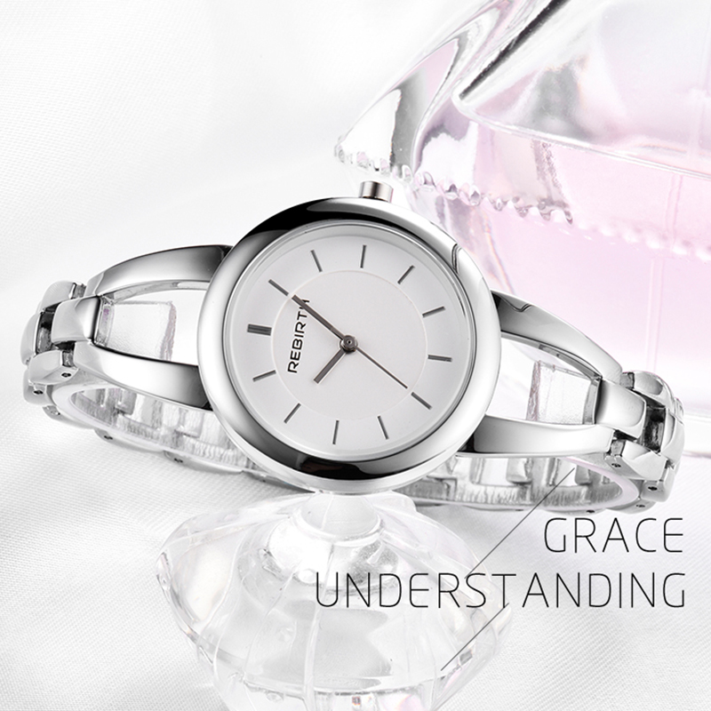 REBIRTH 2018 Relojes para mujeres Nueva marca de relojes de acero de - Relojes para mujeres