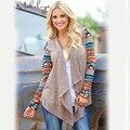 Makuluya 2016 мода длинным рукавом женщины рубашка свитер осень зима теплая благодати рубашка печатных открытый плюс размер свитера MY-85-27