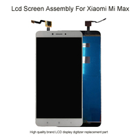 6.44Lcd For Xiaomi Mi Max LCD Touch Screen Digitizer For Xiaomi Mi Max Display Screen Replacement Mi Max 1