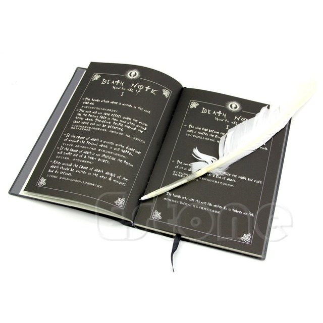 new fashion anime theme death note cosplay notebook new school large