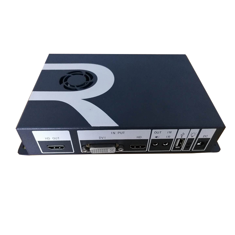 Video Wall Controller HDMI DVI USB Processor video rotate processor rotate 90 degrees 180 degrees 270 degrees for TV monitor wavelets processor